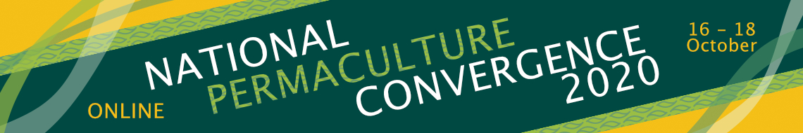 Banner for online Convergence from the Permaculture Association